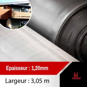 membrane toiture epdm 3,05
