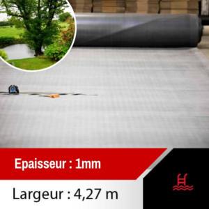 membrane epdm bassin 4.27m