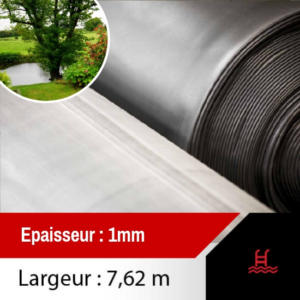 membrane epdm bassin 7.62m