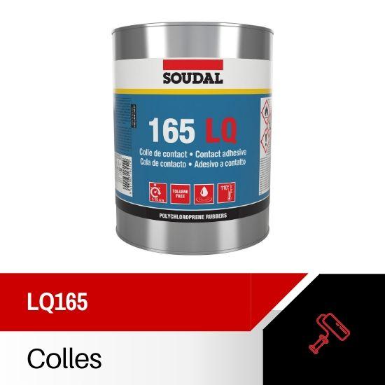 colle contact soudal LQ165 1L