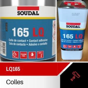 colle contact soudal LQ165 5L
