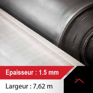 membrane toiture 7,62m de large - ep 1.5