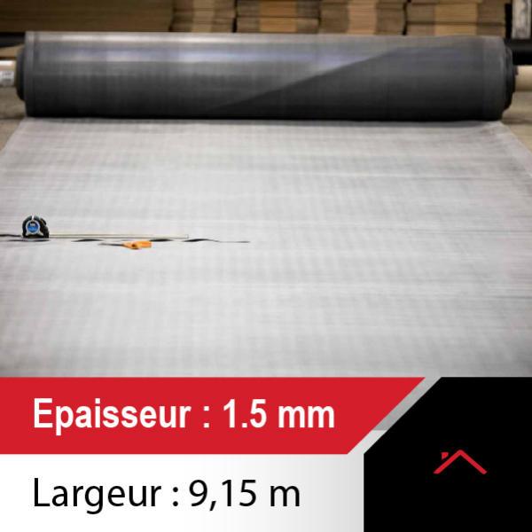 membrane toiture 9,15m de large - ep 1.5