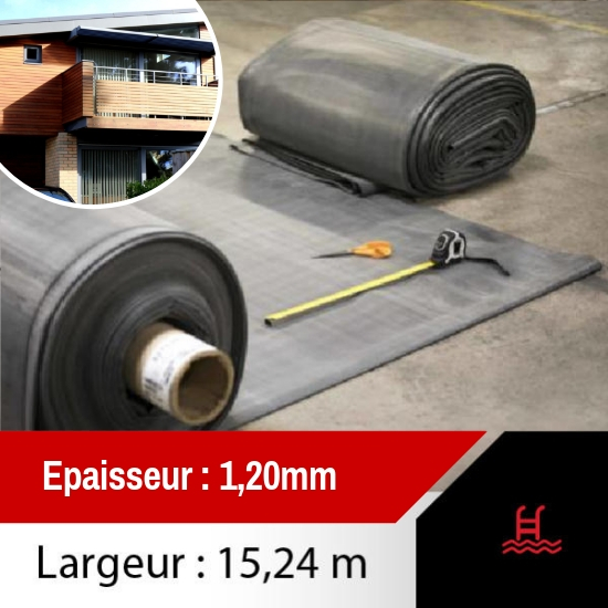 membrane toiture epdm 15.24