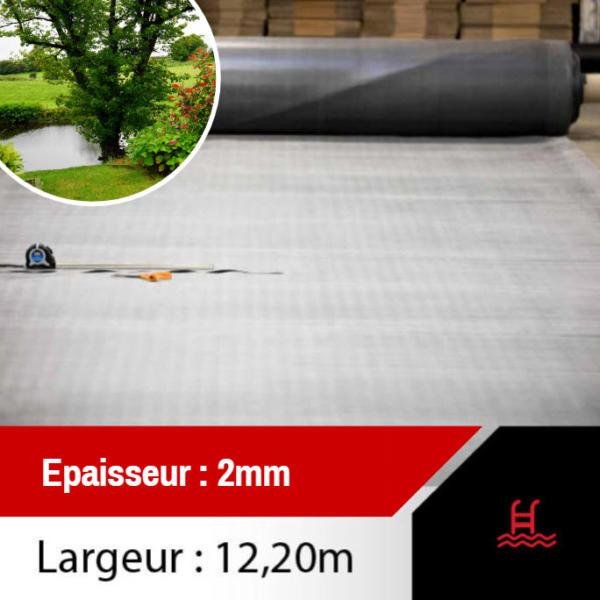membrane epdm 2mm - 12.20 de largeur