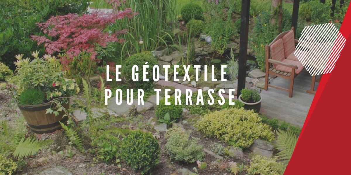 le géotextile pour terrasse