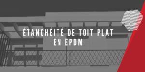 EPDM pour toit plat