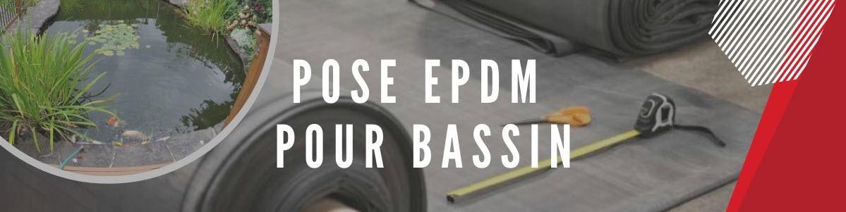 Pose EPDM pour bassin