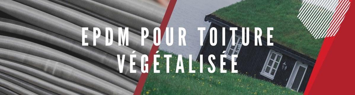 EPDM pour toiture végétalisée