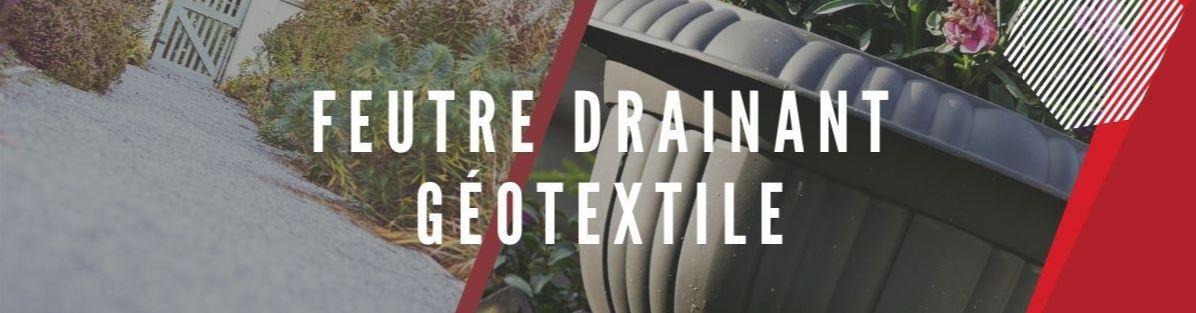 feutre de drainage Geotextile