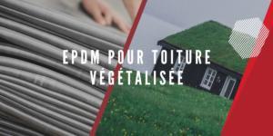 EPDM toiture végétalisée